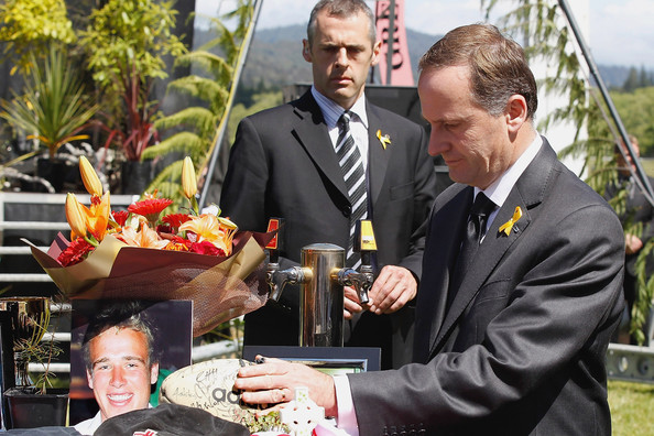 New Zealand Holds Memorial Service For Pike River Miners