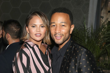 John Legend Chrissy Teigen Ketel One Family-Made Vodka Hosts The Fab Five At The 'Queer' Eye Emmy Cast Party