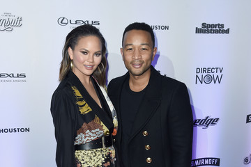 John Legend Sports Illustrated Swimsuit 2017 NYC Launch Event