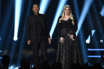 John Legend Meghan Trainor 2015 Billboard Music Awards - Show