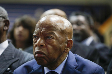 John Lewis Funeral Held For Former Rep. John Conyers In Detroit