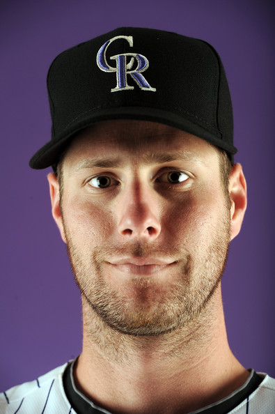 John Maine John Maine Photos Colorado Rockies Photo Day Zimbio