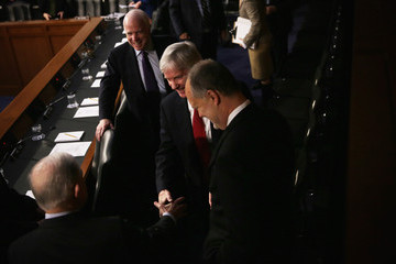John McCain Senate Armed Services Holds Hearing On Situation  In Afghanistan