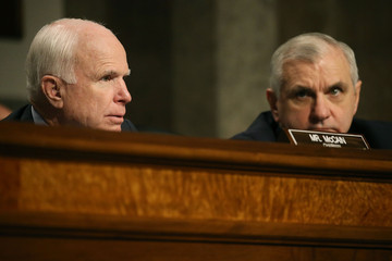 John McCain Senate Holds Hearing on Military Decision to Open All Combat Units to Women
