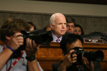 John McCain Army Gen. John Campbell Testifies on Afghanistan to Senate Armed Services Committee