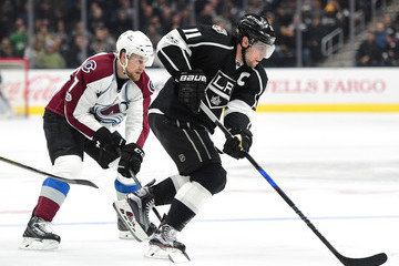 John Mitchell Colorado Avalanche v Los Angeles Kings