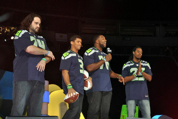 John Moffitt Richard Sherman Celebs Honor Martin Luther King, Jr. at 'We Day' in Seattle