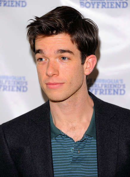 "John Mulaney Actor John Mulaney attends the off-Broadway opening night of ""Mike Birbiglia's My Girlfriend's Boyfriend"" at the Barrow Street Theatre on March 31, 2011 in New York City."