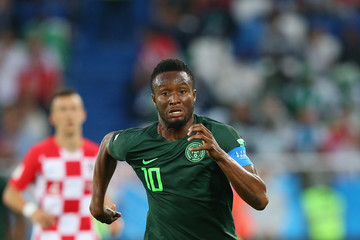 John Obi Mikel Croatia vs. Nigeria: Group D - 2018 FIFA World Cup Russia