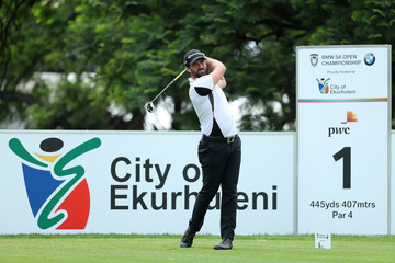 John Parry BMW South African Open Championship - Day One