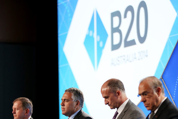 John Rice Business Leaders Gather for B20 Summit