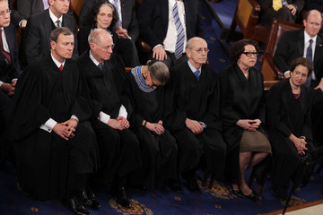 John Roberts ( Sonia Sotomayor Barack Obama Delivers State of the Union Address