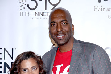 John Salley Chaz Dean WEN Winter Party Benefiting Love Is Louder