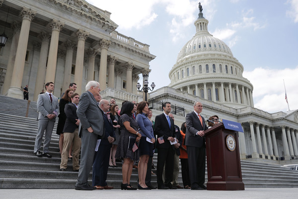 House And Senate Democratic Leadership Announce Their 'A Better Deal For Our Democracy' Agenda