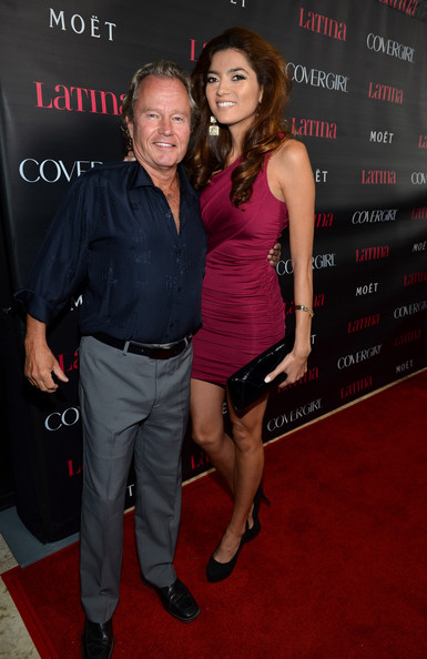 Blanca Blanco with boyfriend John Savage