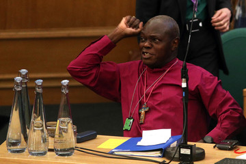 John Sentamu Members Of The Church Of England Synod Vote On Bishop's Gay Marriage Report