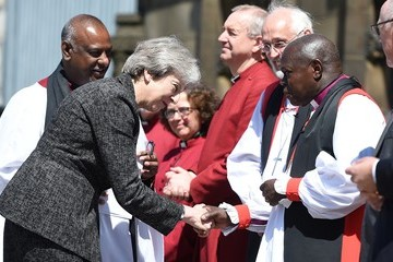 John Sentamu Duke Of Cambridge Pays Tribute To The Manchester Arena Bombing Victims One Year On
