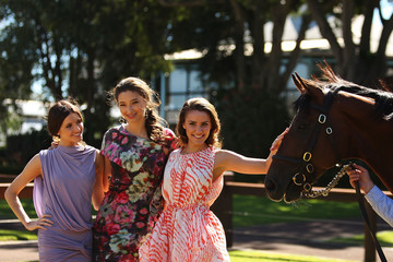 Alexandra Agoston O'Connor John Singleton Celebrates Arrival Of Champion Racehorse Big Brown