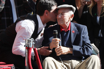 Jack Klugman John Stamos Honored On The Hollywood Walk Of Fame