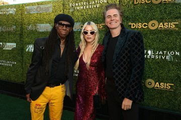 John Taylor The DiscOasis at the South Coast Botanic Garden with Groovemaster Nile Rodgers
