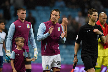 John Terry Aston Villa v Middlesbrough - Sky Bet Championship