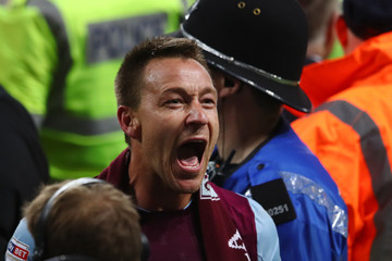 John Terry Aston Villa Vs. Middlesbrough - Sky Bet Championship Play Off Semi Final:Second Leg