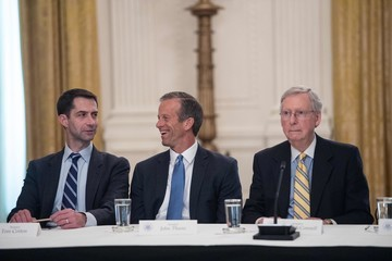 John Thune Trump Invites All GOP Senators to White House for Health Care Bill Discussion