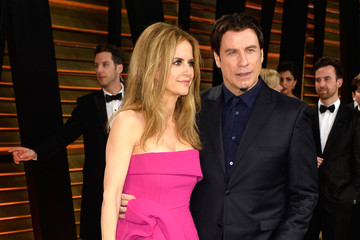 John Travolta Stars at the Vanity Fair Oscar Party
