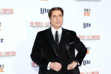 John Travolta Premiere of FX's 'American Crime Story - The People V. O.J. Simpson' - Arrivals
