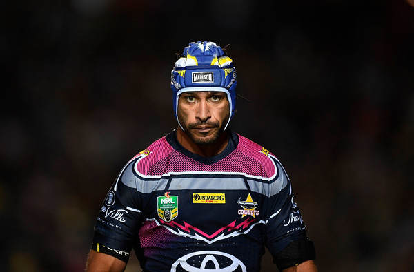 NRL Rd 22 - Cowboys vs. Broncos [helmet,vehicle,recreation,cyclo-cross,mountain bike,sports equipment,bicycle,bicycle clothing,sports,adventure racing,johnathan thurston,australia,townsville,1300smiles stadium,rd 22 - cowboys,nrl,broncos,north queensland cowboys,match]