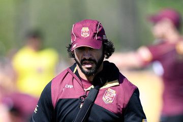 Johnathan Thurston Queensland Maroons Training Session