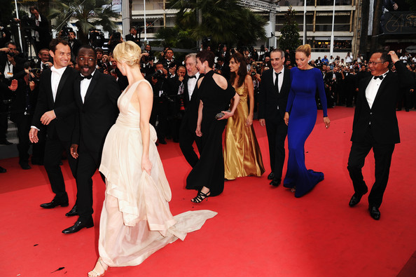 "Johnnie To and Linn Ullmann - ""Les Bien-Aimes"" Premiere And Closing Ceremony Arrivals - 64th Annual Cannes Film Festival"