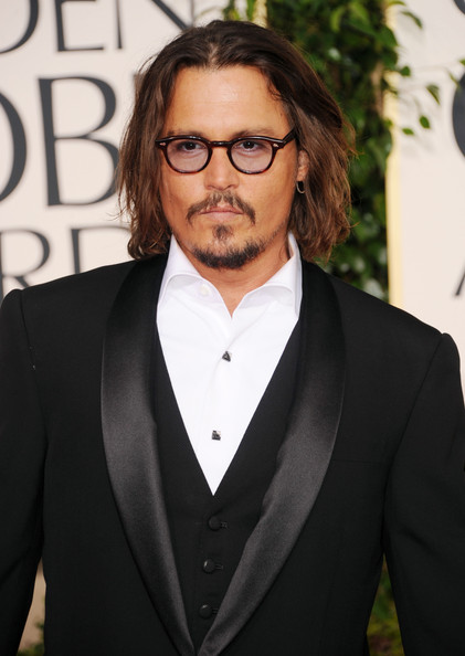 Actor Johnny Depp arrives at the 68th Annual Golden Globe Awards held at The Beverly Hilton hotel on January 16, 2011 in Beverly Hills, California.