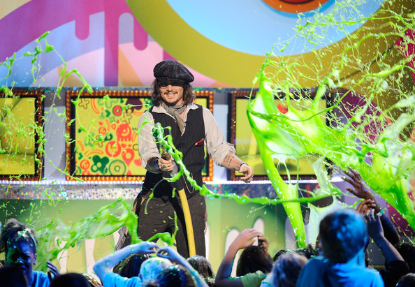 johnny depp 2011 kids choice awards. Johnny Depp Actor Johnny Depp