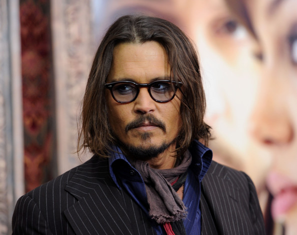 "Johnny Depp Actor Johnny Depp attends the World premiere of ""The Tourist"" at"