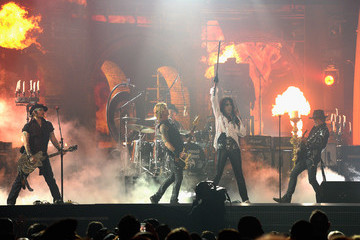 Johnny Depp Alice Cooper The 58th GRAMMY Awards - Show