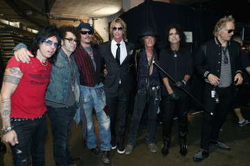 Johnny Depp Alice Cooper The 58th GRAMMY Awards - Backstage and Audience