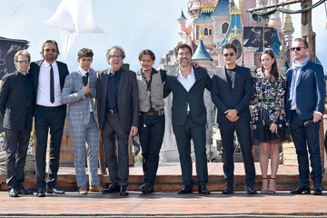 Johnny Depp Jerry Bruckheimer European Premiere of 'Pirates of the Caribbean: Dead Men Tell No Tales'