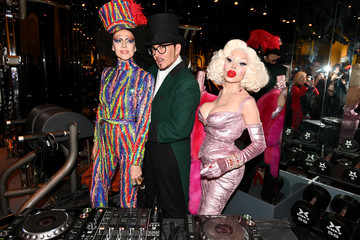 Johnny Dynell Susanne Bartsch David Barton's Toy Drive At TMPL West Village