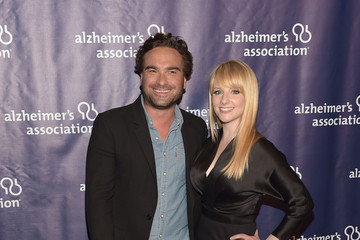 Johnny Galecki Arrivals at 'A Night at Sardi's' Benefit