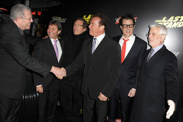 """Johnny Knoxville Michael Paseornek Premiere Of Lionsgate Films' """"The Last Stand"""" - Red Carpet"""