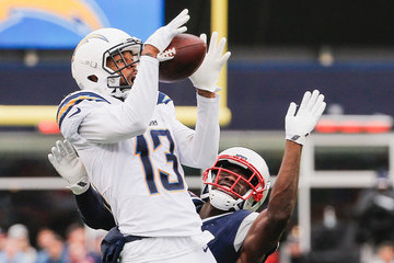 Johnson Bademosi Los Angeles Chargers v New England Patriots