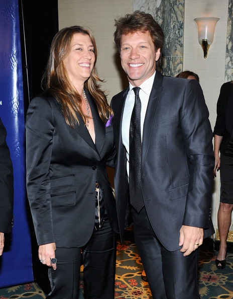 Jon Bon Jovi and Dorothea Hurley - 33rd Annual Police Foundation Gala - Arrivals