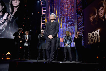 Jon Bon Jovi 33rd Annual Rock & Roll Hall Of Fame Induction Ceremony - Show