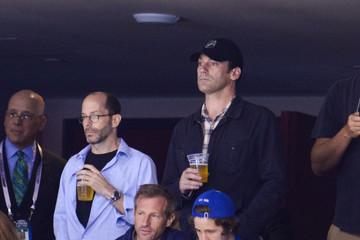 Jon Hamm 2014 NHL Stanley Cup Final - Game One