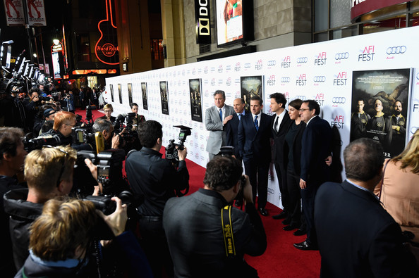 'Foxcatcher' Premieres in Hollywood [foxcatcher,red carpet,event,crowd,carpet,flooring,premiere,city,job,tourism,audi arrivals,jon kilik,steve carell,bennett miller,megan ellison,co-president,co-founder,afi fest,audi closing night gala premiere]