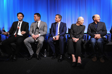 Jon Kilik Channing Tatum The Academy Of Motion Picture Arts And Sciences Hosts An Official Academy Members Screening Of Foxcatcher