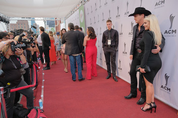 Jon Pardi 12th Annual ACM Honors - Red Carpet