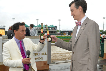 Jon Potter Moet & Chandon Toasts The 139th Kentucky Derby - Day 2