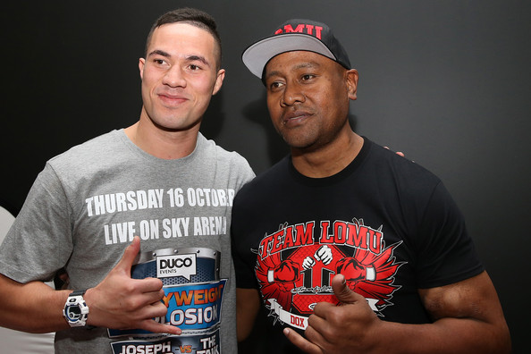 Joseph Parker v Sherman Williams Weigh In